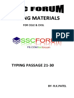 TYPING PASSAGE 21-30 BY SSC FORUM.pdf