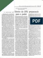 Artigo Jornalistico - Professor Afonso Nascimento