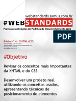 ApresentacaoOfficial Aula4 XHTML e CSS