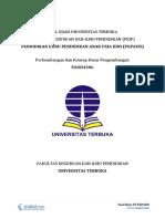 Download Soal Ujian UT PGPAUD PAUD4306 Perkembangan dan Konsep Dasar Pengembangan AUD.pdf