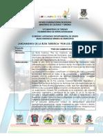 Resumen Ejecutivo Por Los Caminos Del Tio (26 Julio 2018)