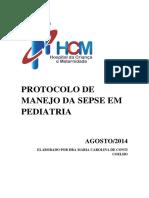 Protocolo de Manejo Da Sepse Em Pediatria