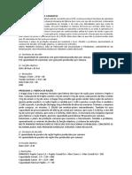 Modelagem de Problemas de Alocação e Dosagem