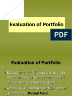 Evaluation of Portfolio- 6