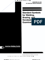 A2.4-1998-Standard Symbols for Welding, Brazing and Nondestrutive Examination