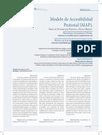 Modelo de Accesibilidad Peatonal