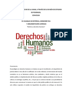 2018 Septiembre Coloquio Derechos Humanos
