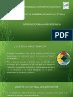 Intro. Mecatronica Unidad 1