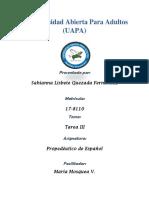 Tarea 3 Propedeutico de Español
