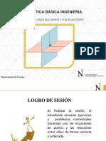 Sesión 4_Planos Euclidiano y Sus Ecuaciones