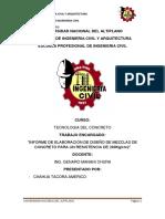 Informe Tecnologia Del Concreto Chahua
