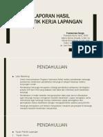 Laporan Hasil PKL PKM Nanga