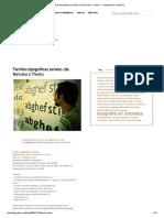 Familias Tipográficas Seriales (de Romulus a Thesis) » Tipografía en Colombia