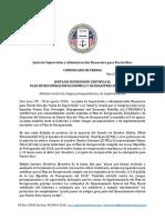 La Junta certifica el Plan de recuperación