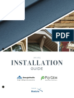 GP Vinyl Siding Installation Guide 2016