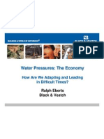 Water Pressures and The Economy