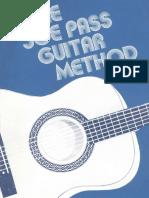 Joe Pass Guitar Method