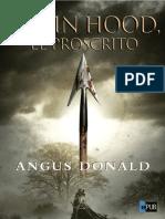 Angus Donald. (Robin Hood - 1) Robin Hood. El proscrito (v1.0 Crubiera).epub