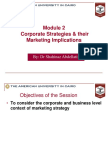 Marketing Module 2