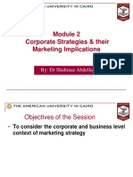 Marketing Module 2