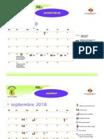 Calendario Padres de Familia 2018-2019