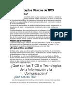 Conceptos Básicos de TICS