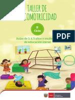 Taller de Psicomotricidad aulas de 3, 4 y 5 años y multiedad de educación inicial.pdf