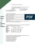 Phonetics Exercises
