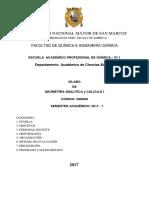 Geom Anal. y Calculo I 07.1 2017-1