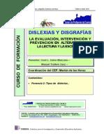 2 Tipos de Dislexia. Trallero & Galve