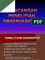 2. Rancangan Penelitian Observasional.ppt