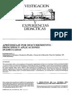 Aprendizaje descubrimiento experiencias inadecuadas.pdf