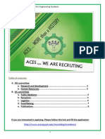 ACES 2011 Members Recruitment