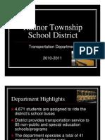 Transportation Board Presentation 092710