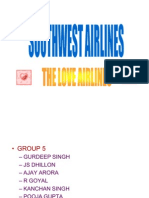 South West Airlines