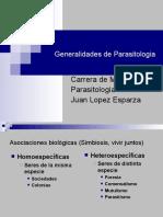 Generalidades de Parasitologia