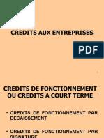 Credits Aux Entreprises