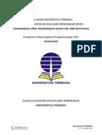 Download Soal Ujian UT PGPAUD PAUD4408 Komputer Dalam Kegiatan Pengembangan AUD
