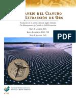 manejo cianuro extracción oro