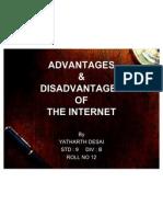 Adv Disadv of Int by Yatharth Desai