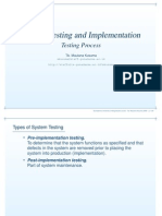 Software Testing Process