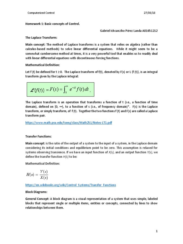 conceptos | Feedback | Laplace Transform on working math, block art math, concept map math, mind map math, block figure math, dimensions math, fashion design math, function math, cross section math, flow chart math,