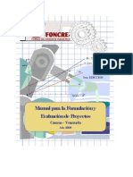 Manual Proyectos