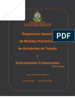 to General de Medidas Preventivas de Accidentes de Trabajo y Enfermedades Profesionales