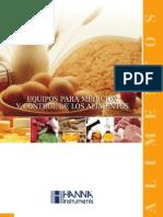 Catálogo Alimentos HANNA Instruments Bolivia