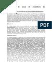 Resolución de casos de parasitosis de protozoarios