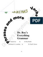Dr. Roy's Everything Grammar Part I