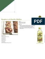 Raspberry and Vanilla Muffins