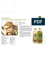 Red Snapper With Potato Cakes