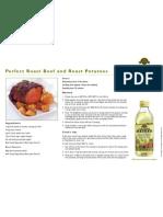 Roast Beef and Roast Potatoes